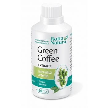 Green Coffee Extract, 120 cps, Rotta Natura