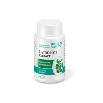 Gymnema extract, 30 capsule, Rotta Natura