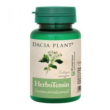 HerboTensin, 60 comprimate, Dacia Plant (Reglator al Tensiunii)