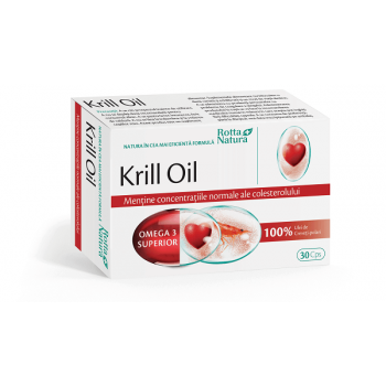 Krill Oil 500mg, 30 capsule, Rotta Natura