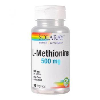 L-Methionine 500mg, 30 capsule, Secom