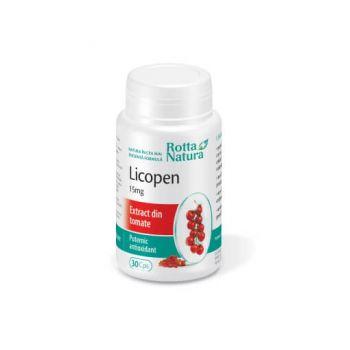 Licopen 15 mg, 30 capsule, Rotta Natura