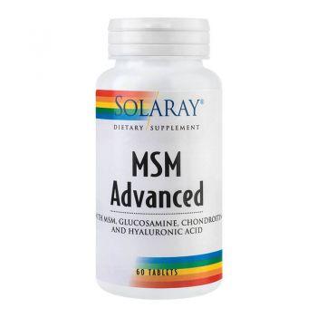 MSM Advanced Secom, 60 tablete, Solaray