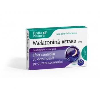 Melatonina Retard 5 mg, 30 tb, Rotta Natura