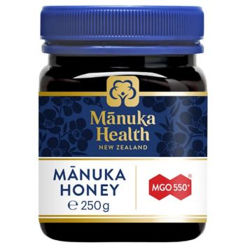 Miere de Manuka MGO 550, 250g, Manuka Health