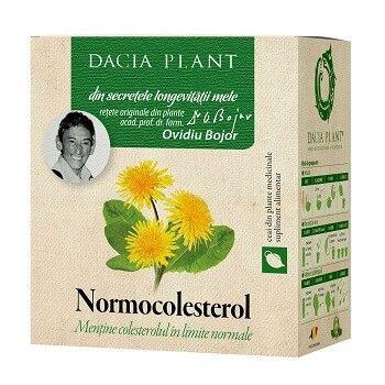 Ceai normocolesterol, 50g, Dacia Plant