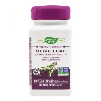 Olive Leaf Secom, 60 cps, Nature's Way
