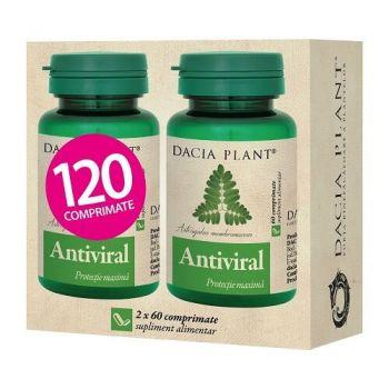 Pachet Antiviral, Dacia Plant, 60 comprimate, 1+1