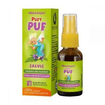 PufyPUF cu salvie spray, 20 ml, Dacia Plant