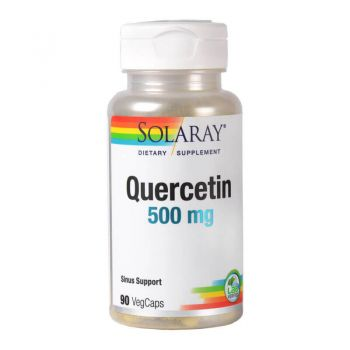 Quercetin 500mg, 90 capsule, Solaray (Secom)