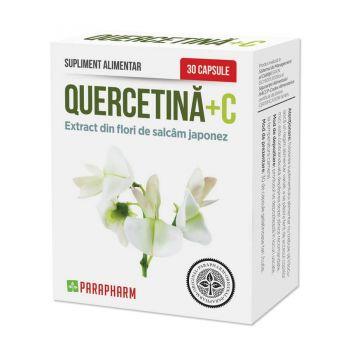 Quercetina+C, 30 capsule, Parapharm