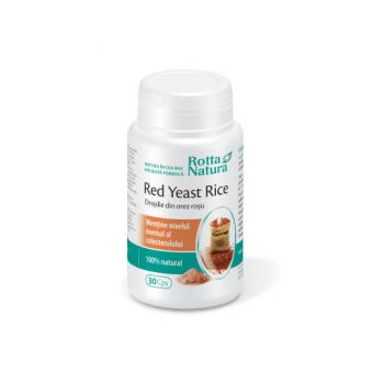 Red Yeast Rice 635 mg, 30 cps