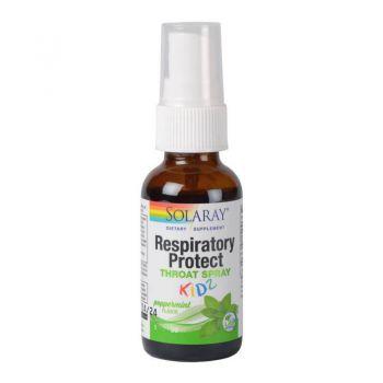 Respiratory Protect Kidz Throat Spray Secom - 30 ml Solaray