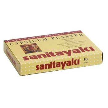 Sanitayaki Plasture cu Ardei Iute, 50 buc