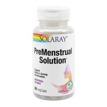 Secom Premenstrual Solution, 60 capsule, Solaray