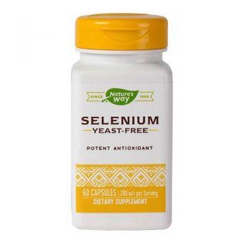 Selenium 200 mcg Secom, 60 cps, Nature's Way