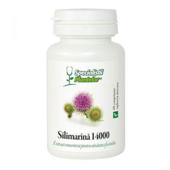 Silimarina 14000, 60 comprimate, Dacia Plant