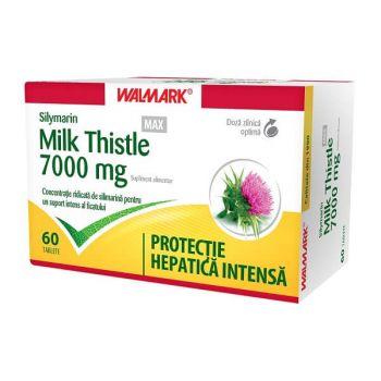 Silymarin Milk Thistle MAX 7000mg, 60 cpr, Walmark