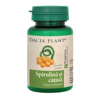 Spirulina si Catina, 60 comprimate, Dacia Plant