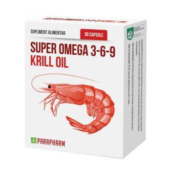 Super Omega 3-6-9 Krill oil, 30 capsule, Parapharm
