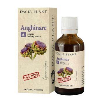 Tinctura de Anghinare Extract natural fara alcool, 50 ml, Dacia Plant