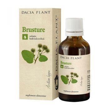 Tinctura de Brusture, 50 ml, Dacia Plant