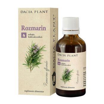 Tinctura de Rozmarin, 50 ml, Dacia Plant