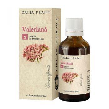 Tinctura de Valeriana, 50 ml, Dacia Plant