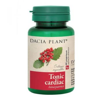 Tonic Cardiac, 60 cpr, Dacia Plant