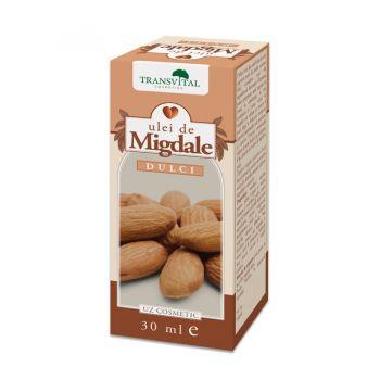 Ulei de migdale dulci, 30 ml, Transvital