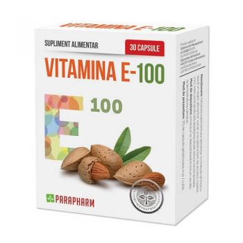 Vitamina E-100, 30 capsule, Parapharm