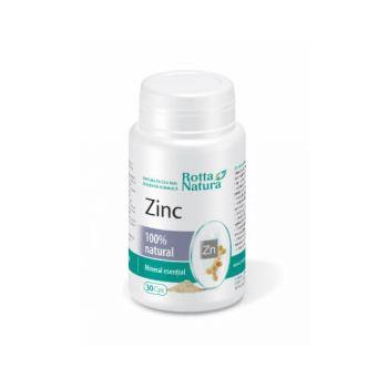 Zinc natural, 30 capsule, Rotta Natura