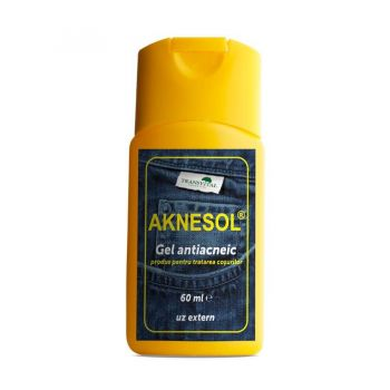 Gel antiacneic Aknesol, 60 ml, Transvital
