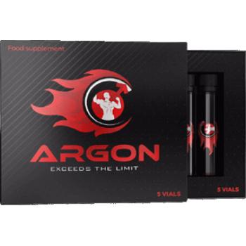Supliment alimentar Argon Potent, 5 fiole