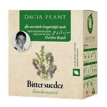 Ceai Bitter Suedez, 50g, Dacia Plant