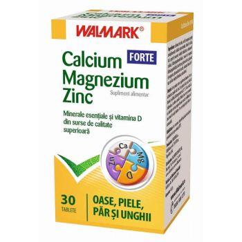 Calcium Magneziu Zinc Forte, 30 tb, Walmark