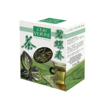 Ceai verde frunze, 100 g, Parapharm