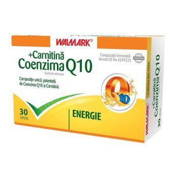 Coenzima Q10 + Carnitina, 30 cps, Walmark