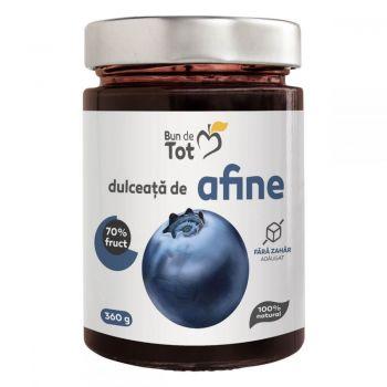 Dulceata de Afine fara zahar, 360g, Dacia Plant