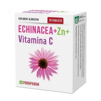 Echinacea + Zinc + Vitamina C, 30 cps, Parapharm