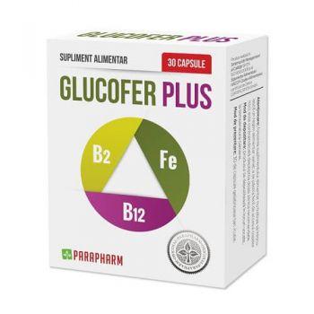 Glucofer Plus, 30 capsule, Parapharm