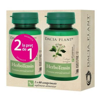 HerboTensin, 60 + 60 comprimate (2 la pret de 1) Dacia Plant