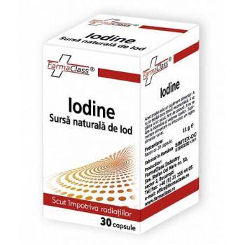 Iodine, 30 capsule, FarmaClass
