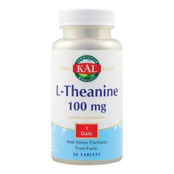 L-Theanine 100mg, 30 tablete, Secom