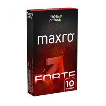 Maxro Forte, 10 capsule potenta