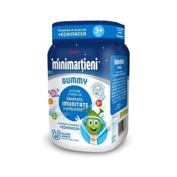 Walmark Minimartieni cu Echinacea Gummy, 60 jeleuri