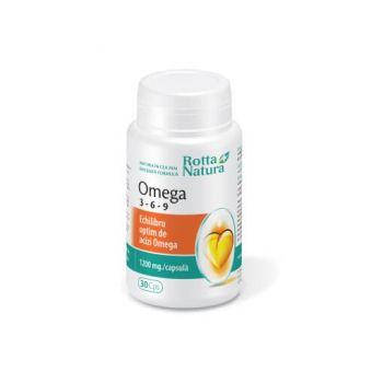 Omega 3-6-9, 30 cps, Rotta Natura