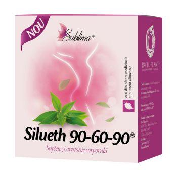 Ceai Silueth 90-60-90, 50 g, Dacia Plant