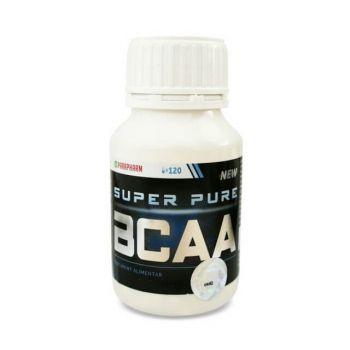 Super pure BCAA, 120 comprimate, Parapharm