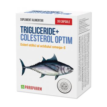 Trigliceride + Colesterol Optim, 30 capsule, Parapharm